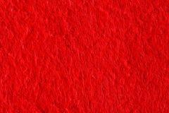 Abstrakt bakgrund med röd filttextur, sammettyg Royaltyfri Fotografi