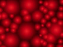 Abstrakt bakgrund med röda cirklar Royaltyfri Bild