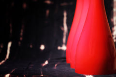 Abstrakt bakgrund med röda lampskärmar Royaltyfria Bilder