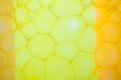 Abstrakt bakgrund med sexhörniga geometriska former Arkivbild