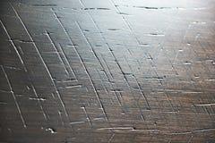 Abstrakt bakgrund med skrapor på trä Royaltyfri Fotografi