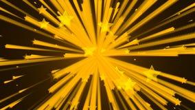 Abstrakt bakgrund med stjärnaexplosion vektor illustrationer