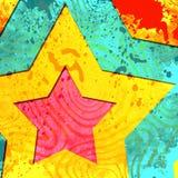 Abstrakt bakgrund med stjärnor Royaltyfri Bild