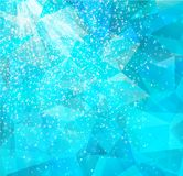 Abstrakt bakgrund med stjärnor. Vektor EPS 10 Royaltyfria Bilder