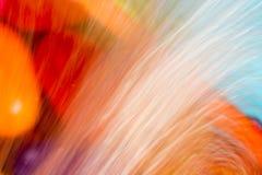 Abstrakt bakgrund med suddigt flödande vatten Fotografering för Bildbyråer