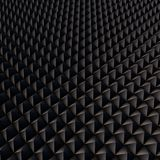 Abstrakt bakgrund med svarta polygoner Royaltyfri Bild