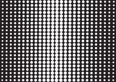 Abstrakt bakgrund med svarta prickar, stil för popkonst vektor stock illustrationer