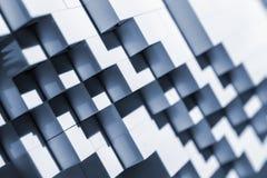 Abstrakt bakgrund med trappaform Royaltyfria Bilder