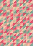 Abstrakt bakgrund med trianglar Arkivfoto