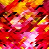 Abstrakt bakgrund med trianglar Royaltyfria Foton