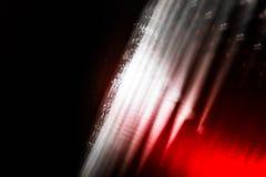 Abstrakt bakgrund med vita och röda band Fotografering för Bildbyråer