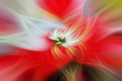 Abstrakt bakgrund med vriden effekt för ljusa fibrer Royaltyfria Bilder