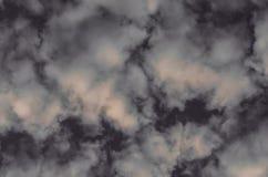 Abstrakt bakgrund, moln och rök på ett mörker - grå bakgrund Royaltyfria Foton