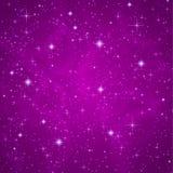 Abstrakt bakgrund: moussera som blinkar stjärnor Royaltyfri Fotografi