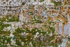 Abstrakt bakgrund och textur av en gammal vägg Fotografering för Bildbyråer