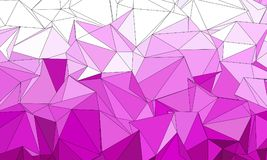 abstrakt bakgrund polygonal Arkivfoton