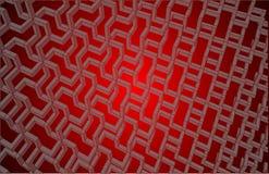 abstrakt bakgrund Rött Konstruktion modell modernt Arkivbild