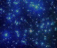 abstrakt bakgrund rastrerad cirkel för blått abstrakt baner Royaltyfria Foton