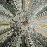 abstrakt bakgrund rays sunen Royaltyfri Fotografi
