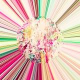 abstrakt bakgrund rays sunen Royaltyfri Foto