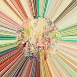 abstrakt bakgrund rays sunen Fotografering för Bildbyråer