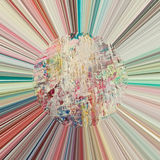 abstrakt bakgrund rays sunen Royaltyfria Foton