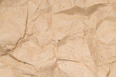 abstrakt bakgrund skrynkligt papper Arkivbild