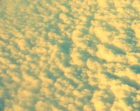 Abstrakt bakgrund - skuggor av moln Royaltyfri Fotografi
