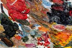 Abstrakt bakgrund som göras av den färgrika paletten Arkivbilder