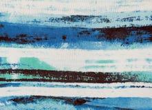 Abstrakt bakgrund som imiterar havet eller himlen Royaltyfri Bild