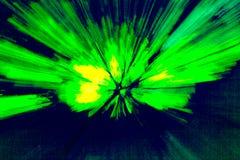 Abstrakt bakgrund som p?minner av en bristningsenergi som ?r m?ngf?rgad, str?lar, fotografering för bildbyråer