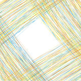 Abstrakt bakgrund som sätter in text från de kulöra linjerna stock illustrationer