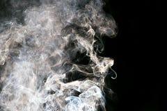 abstrakt bakgrund svart rök för bakgrund Arkivbild