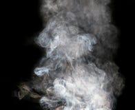 abstrakt bakgrund svart rök för bakgrund Royaltyfri Fotografi