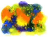 abstrakt bakgrund tecknad handvattenfärg Royaltyfri Fotografi