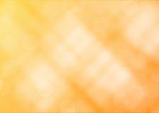 Abstrakt bakgrund/textur för gula lampor stock illustrationer