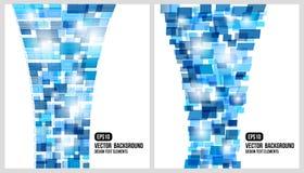 Abstrakt bakgrund. Vektor rectangled design vektor illustrationer