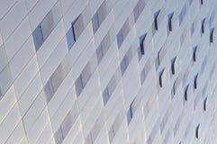 abstrakt bakgrund Vit bakgrund Kontorsbyggnadfasad royaltyfri foto
