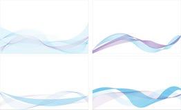 abstrakt bakgrundsblålinjen Fotografering för Bildbyråer