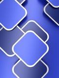 Abstrakt bakgrundsblått vektor illustrationer