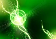 abstrakt bakgrundsblackgreen royaltyfri illustrationer