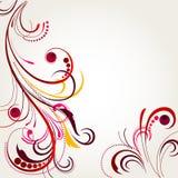 abstrakt bakgrundsblomma Royaltyfri Foto