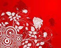 abstrakt bakgrundsblomma Royaltyfria Bilder