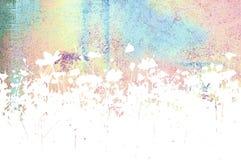 abstrakt bakgrundsblommatexturer Arkivbilder