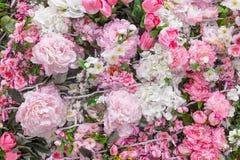 abstrakt bakgrundsblommor Royaltyfri Foto