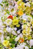 abstrakt bakgrundsblommor Royaltyfri Fotografi