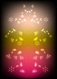 abstrakt bakgrundsblommor Royaltyfria Foton