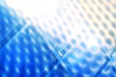abstrakt bakgrundsblueexponeringsglas Arkivbilder