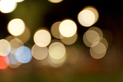 abstrakt bakgrundsbokeh Fotografering för Bildbyråer