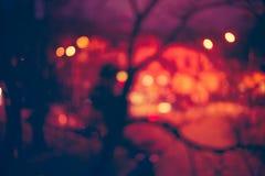 abstrakt bakgrundsbokeh Ferienatt Royaltyfria Foton